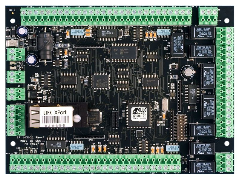 AAN-4/2/1 — Integrated Controller / Reader Interface