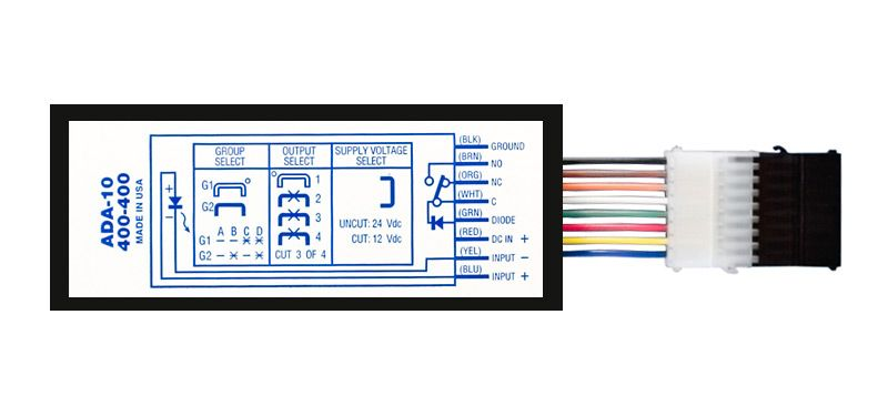 ADA-10/11 Digital Door Strike/Relay Control Module